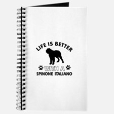 Life is better with Spinone Italiano Journal