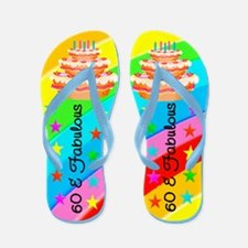 COOL 60TH Flip Flops