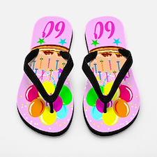 TERRIFIC 60TH Flip Flops