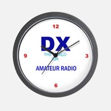 Ham Radio Wall Clock, DX The World