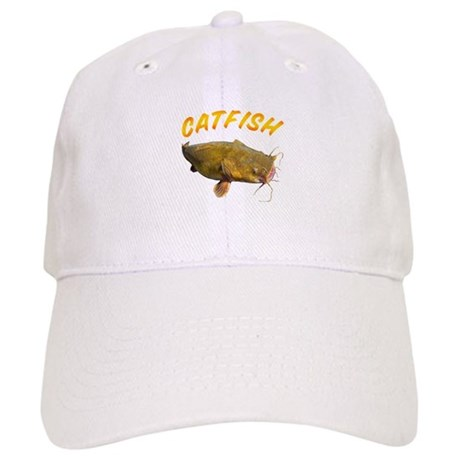 Catfish side Baseball Cap
