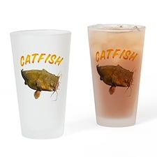 Catfish side Drinking Glass