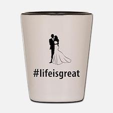 Married Shot Glass