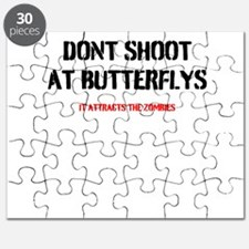DONT SHOOT THE BUTTERFLYS Puzzle
