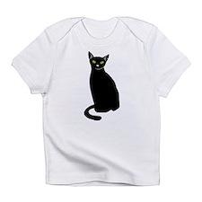 Black Cat Infant T-Shirt