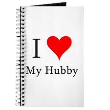I Love My Hubby Journal