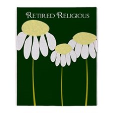 retired religious 4 Throw Blanket