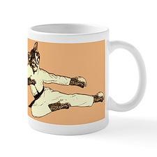 Karate Cat Mug