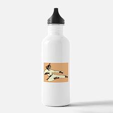 Karate Cat Water Bottle