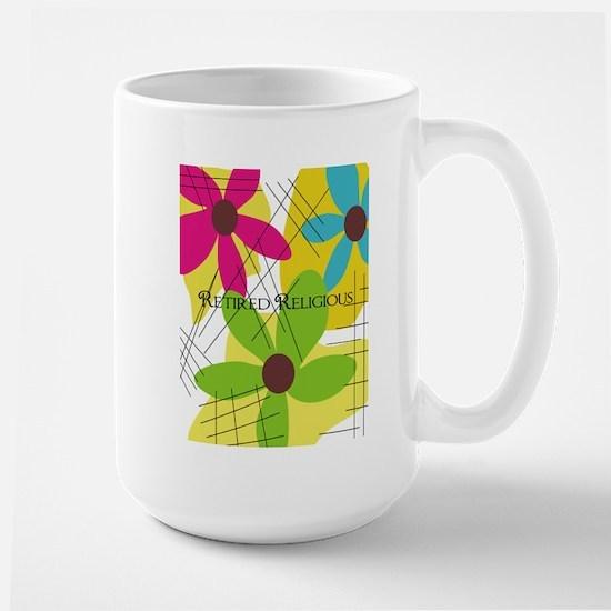Retired Religious 5 floral Mug