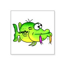 Bass fish cartoon Sticker