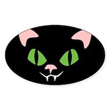 Retro Black Cat Decal
