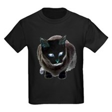 Black Cat Blue T