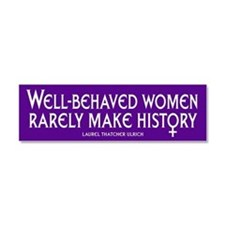 Funny Equal rights Car Magnet 10 x 3