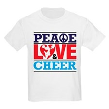 Peace Love and Cheer T-Shirt