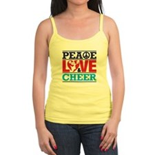 Peace Love and Cheer Tank Top