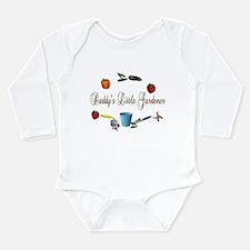 Daddy's Little Gardener Infant Creeper Body Suit