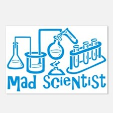Mad Scientist Postcards (Package of 8)