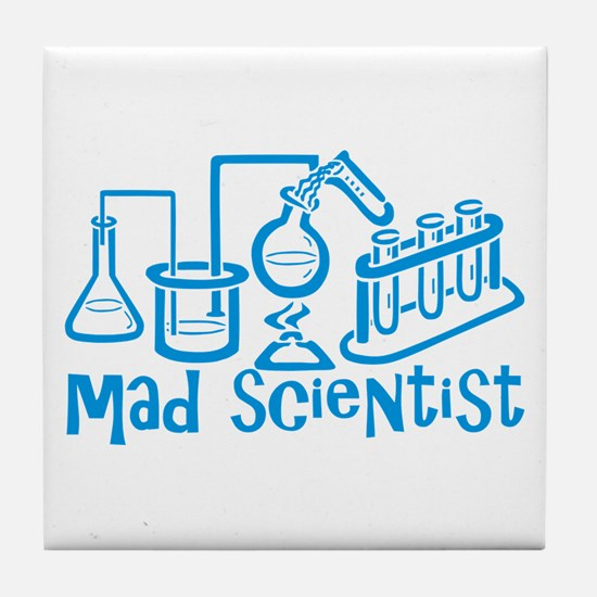 Mad Scientist Tile Coaster