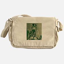 Highlander cat Messenger Bag