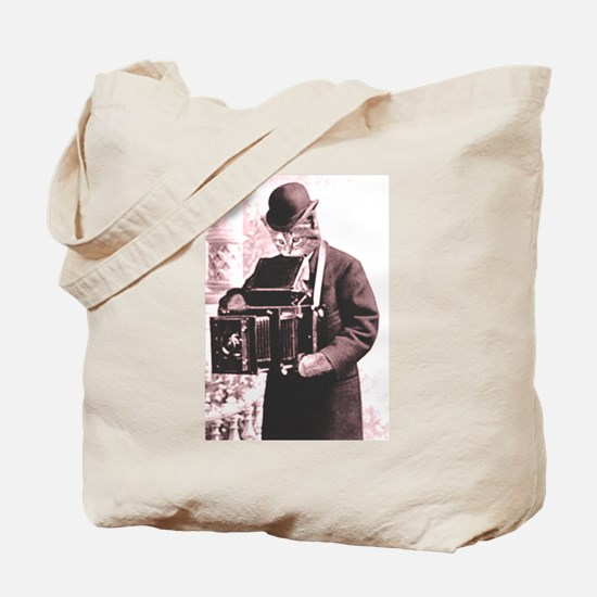 Photography cat Tote Bag