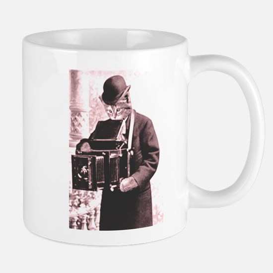 Photography cat Mug