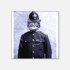 Policeman Cat Sticker