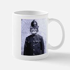 Policeman Cat Mug