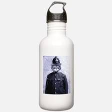 Policeman Cat Water Bottle