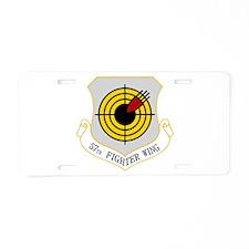 57th FW Aluminum License Plate