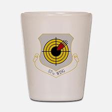 57th W Shot Glass