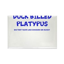 DUCK BILLED PLATYPUS Rectangle Magnet