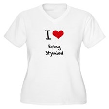 I love Being Stymied Plus Size T-Shirt