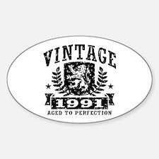 Vintage 1991 Decal