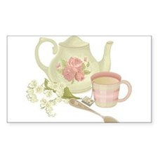 Vintage Old English Teapot Decal