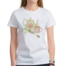 Vintage Old English Teapot T-Shirt