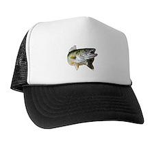 walleye turn Trucker Hat