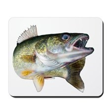 walleye turn Mousepad