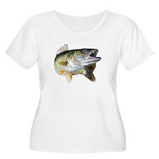 walleye turn Plus Size T-Shirt
