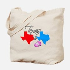 Turning Texas Red to Blue Tote Bag