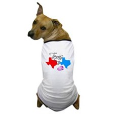 Turning Texas Red to Blue Dog T-Shirt