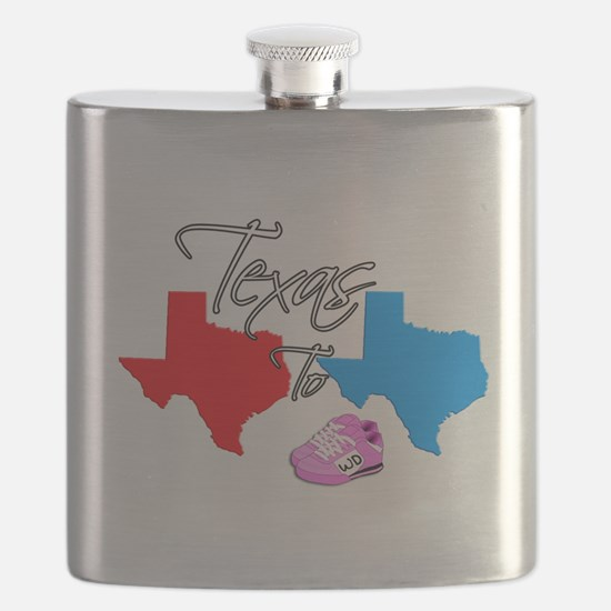 Turning Texas Red to Blue Flask