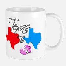 Turning Texas Red to Blue Mug