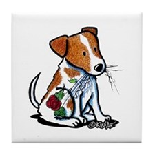 Sitting JRT Tile Coaster