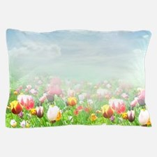 Spring Tulips Pillow Case