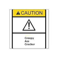 Creepy Cracker Sticker