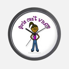 Dark Girls Can't WHAT? Wall Clock