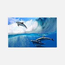 Dolphin 3'x5' Area Rug