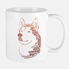 Malamute Words Mug
