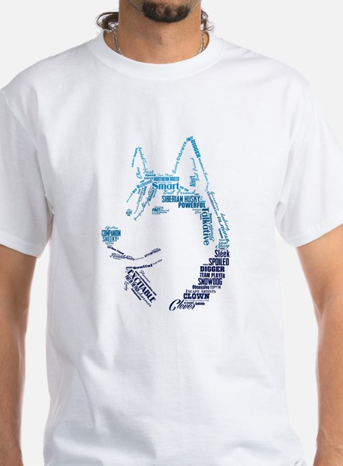 Husky Words T-Shirt